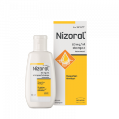 NIZORAL 20 mg/ml shampoo 60 ml