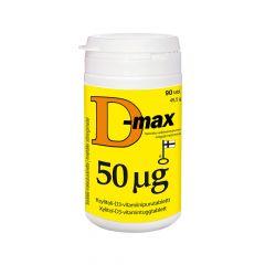 D-max 50 mikrog 90 tabl
