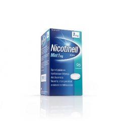 NICOTINELL MINT 1 mg imeskelytabl 96 fol