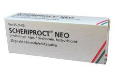 SCHERIPROCT NEO 1,9/5 mg/g rektaalivoide 30 g
