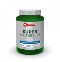 SUPER MAGNESIUM 100 mg 100 tabl