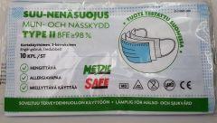 SUU-NENÄSUOJUS SAFE 10 KPL